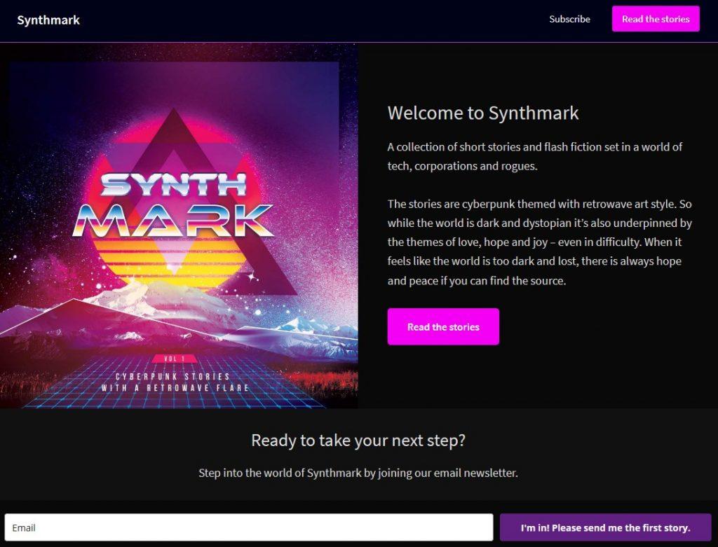 Synthmark website